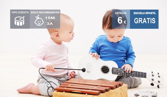 Taller musical para bebés